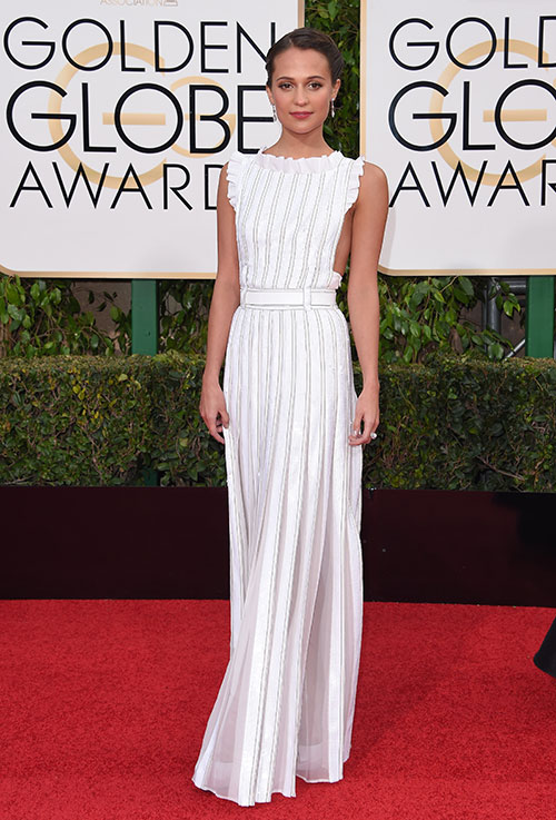 Golden Globe 2016: Alicia Vikander