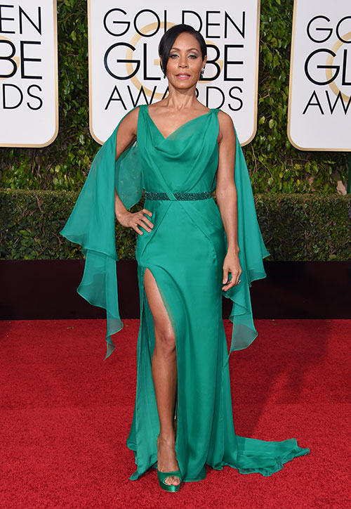 Golden Globe 2016: Jada Pinkett Smith