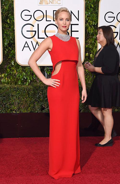 Golden Globe 2016: Jennifer Lawrence