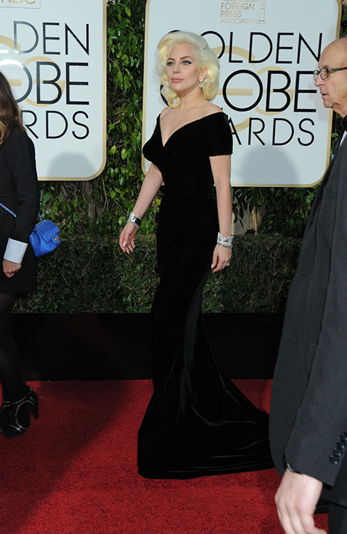 Golden Globe 2016: Lady Gaga