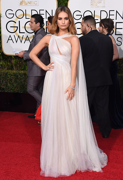 Golden Globe 2016: Lily James