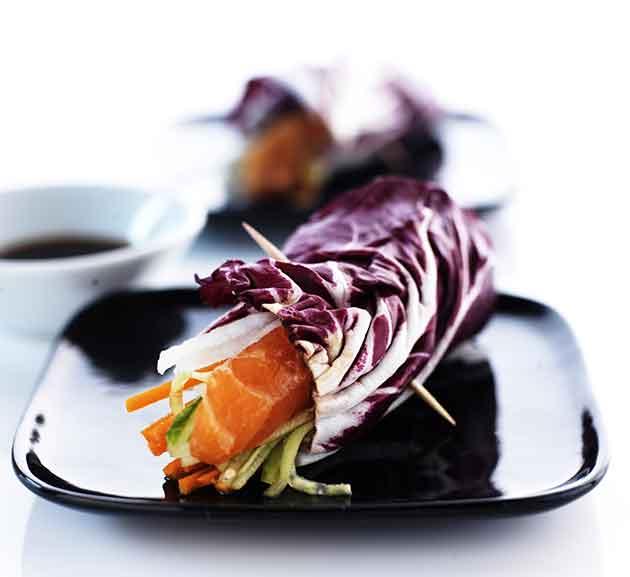 sushi-salaattikäärö
