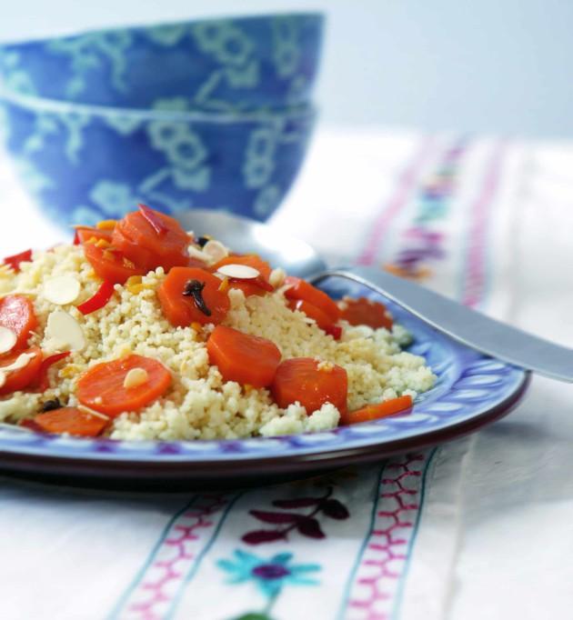 Porkkanacouscous