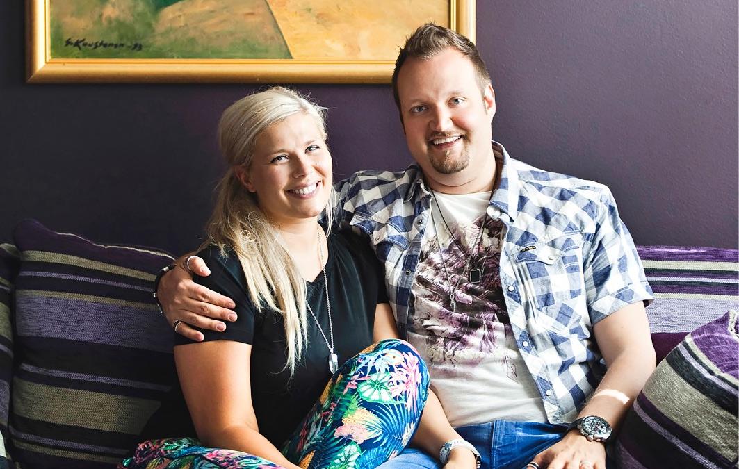 Sami Hedberg ja Ilona