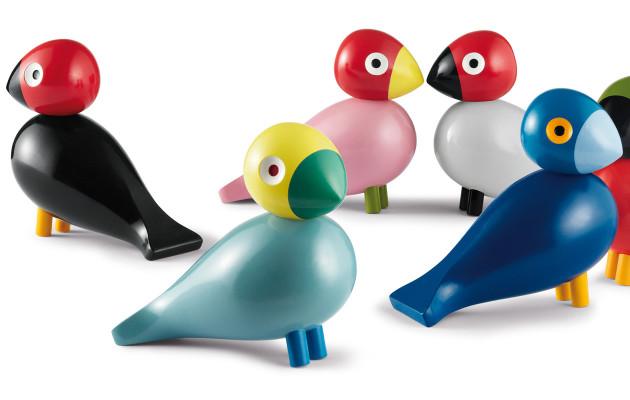 Sisustustrendi: Lintukuosit ja koristelinnut