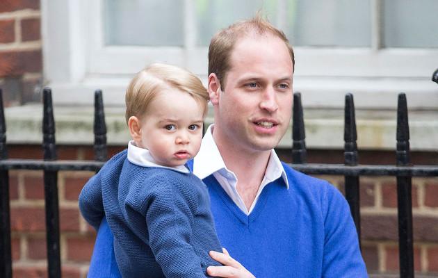 Prinssi William ennustaa: Pikku-Georgesta kasvaa sandaaleja käyttävä hippi