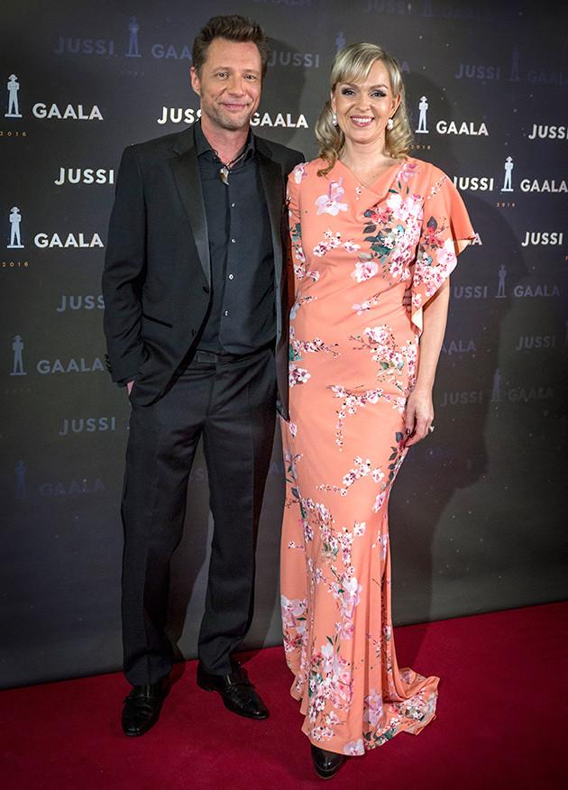 Anu Sinisalo ja Antti Reini, Jussi-gaala 2016
