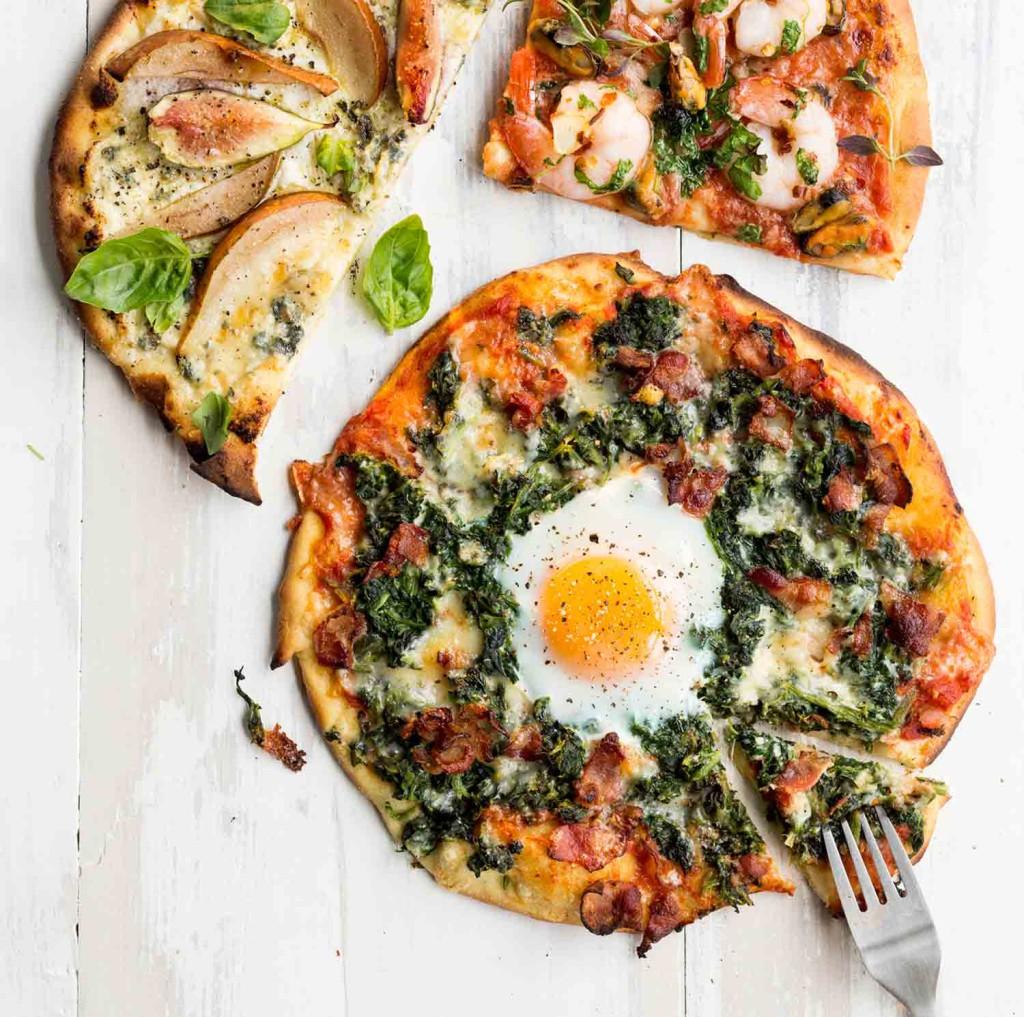 pizzapohja kananmunasta