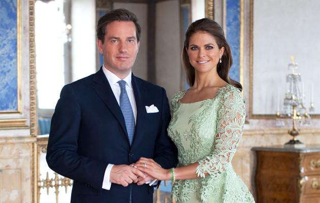 Christopher O Neill ja Ruotsin prinsessa Madeleine