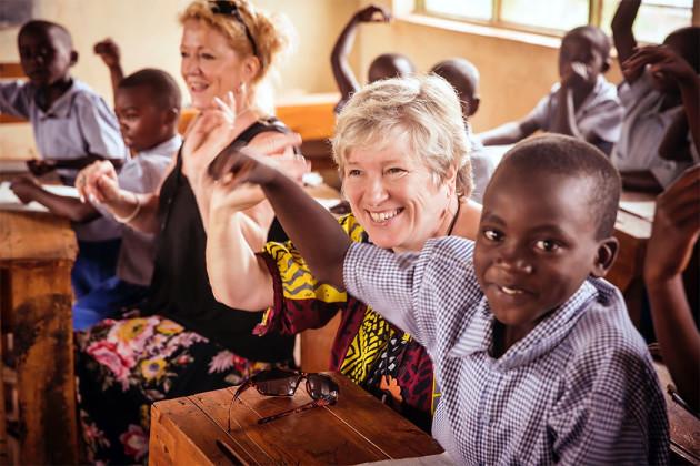 Eija Ahvo Ruandassa