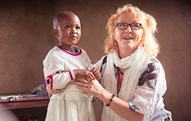Susanna Haavisto Ruandassa