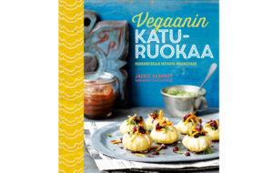 vegaanin katuruokaa -kirjan kansi
