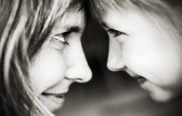 Vahvan äidin lapset ovat usein sinnikkäitä.