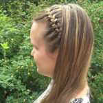 Kun et halua solmia kaikkia hiuksiasi kiinni, kokeile nuorekasta otsatukkalettiä.