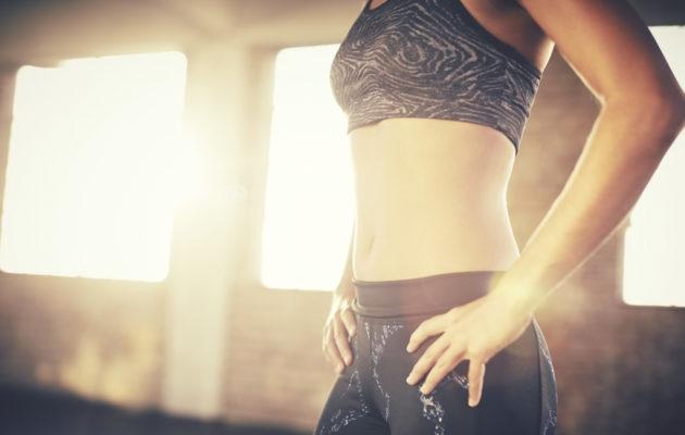Kun syvät vatsalihakset ovat kunnossa, vatsa litistyy kuin itsestään.