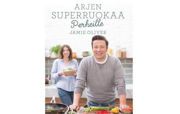 Jamie Oliver Arjen superruokaa perheille kansi