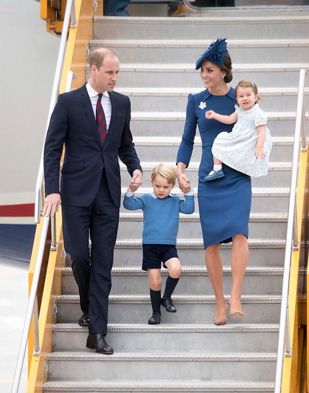 Prinssi George ja prinsessa Charlotte mukana Kanadassa – 3 huippuhetkeä