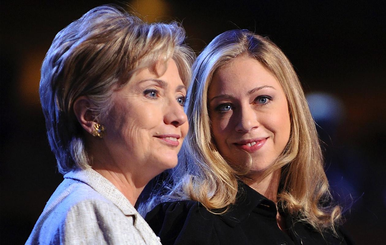 Hillary ja Chelsea Clinton