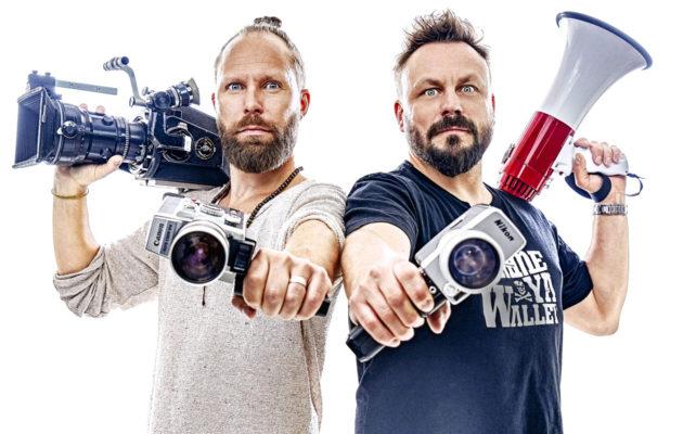 Docventures-ohjelman Tuomas Milonoff ja Riku Rantala touhuavat jälleen dokumenttien maailmassa.