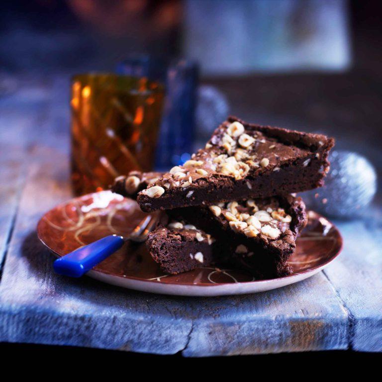 pähkinä-suklaabrownie