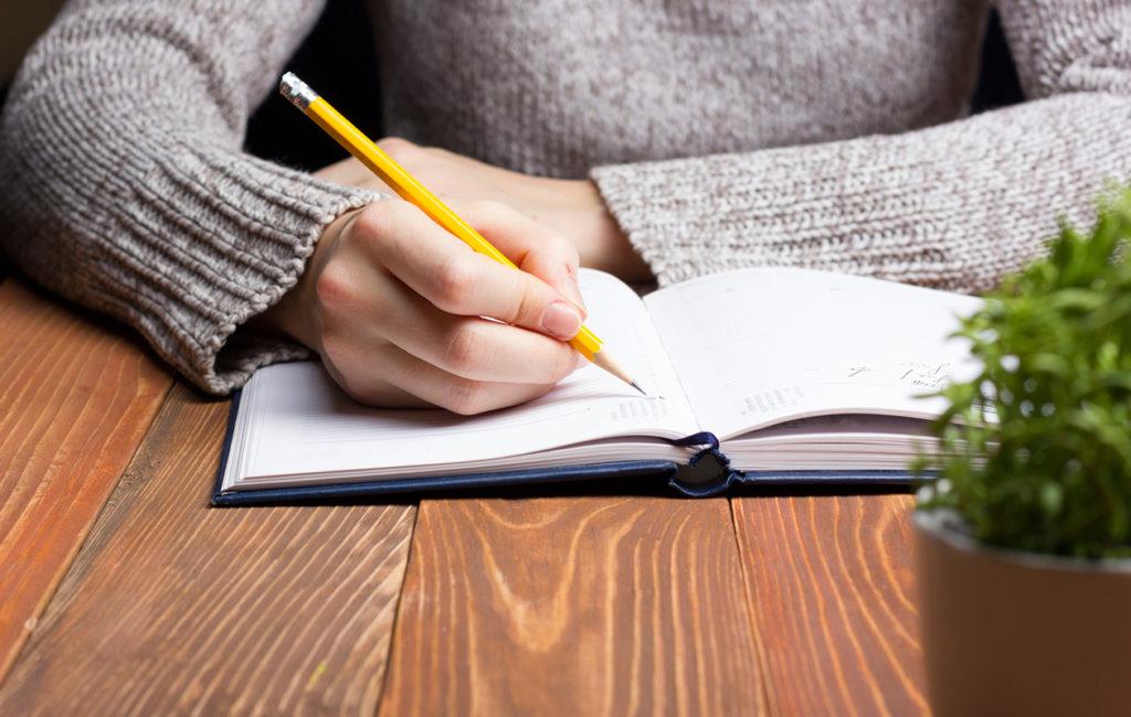 Päiväkirjan Kirjoittaminen