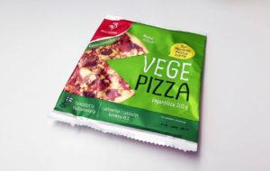 Testissä vegaaninen roiskeläppä eli Saarioisen Vegepizza