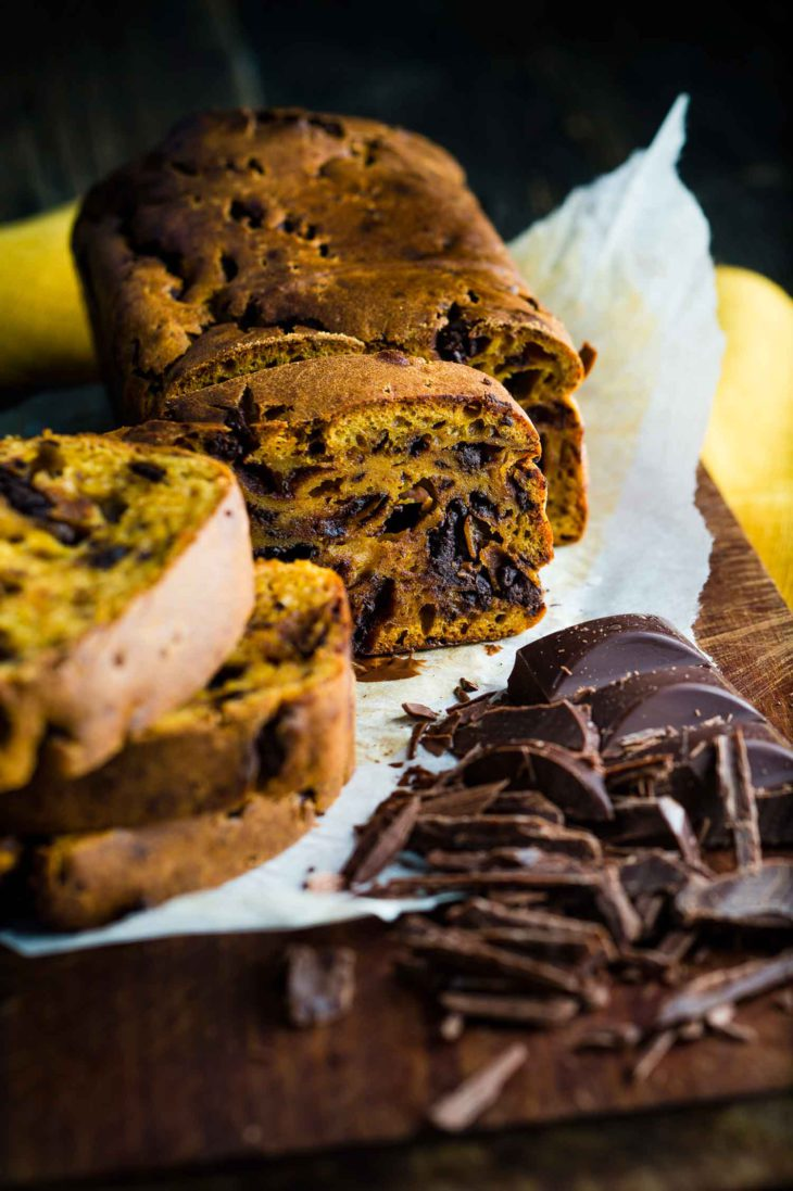 kurpitsa-suklaaleipä