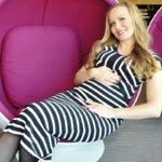 Marja Hintikka aikoo joogata raskautensa ajan.