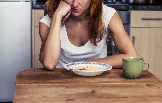 Sinkin puutteesta voi seurata ruokahaluttomuutta.