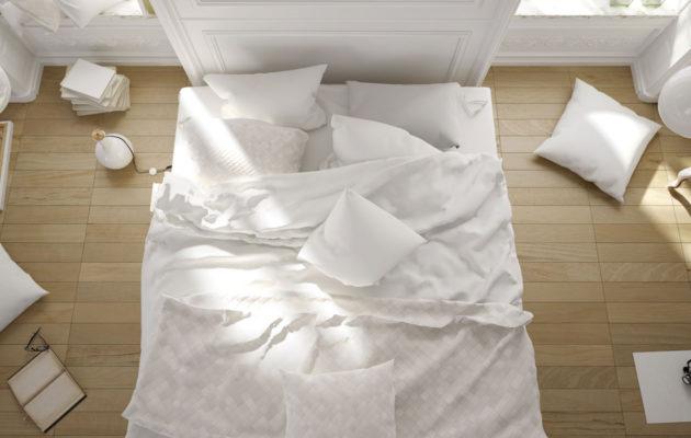 Jotta lakanat pysyvät kauniina, niitä täytyy pestä riittävän usein. Liian likainen sänky on pahimmillaan jopa terveysriski.