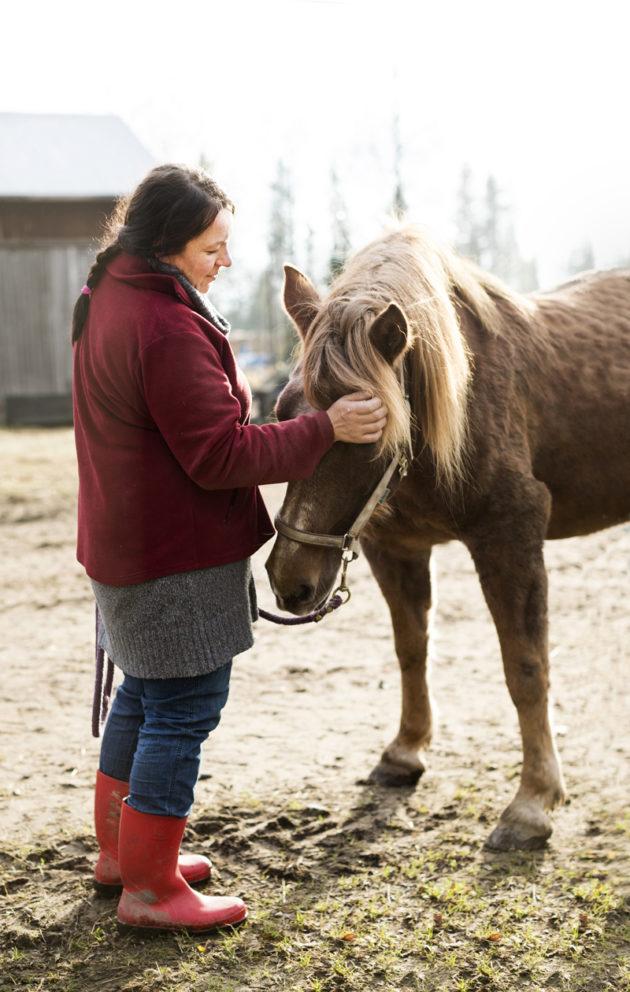 Hevonen pelasti elämäni.