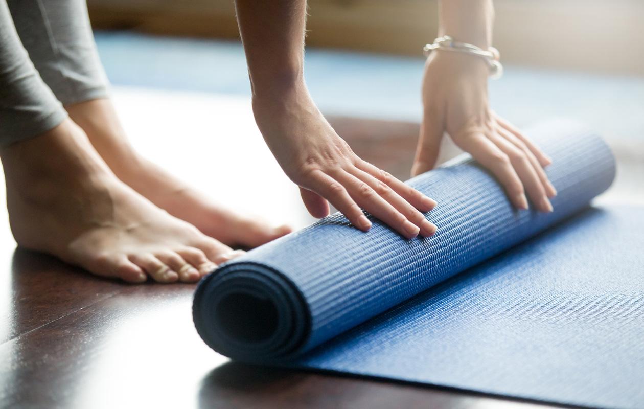 Jooga vaikuttaa sekä kehoon että mieleen.