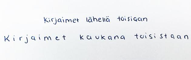 Tämän käsialasi paljastaa sinusta ja luonteestasi
