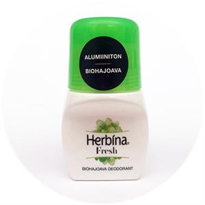 Herbina Fresh Roll-on Deodorant Biohajoava