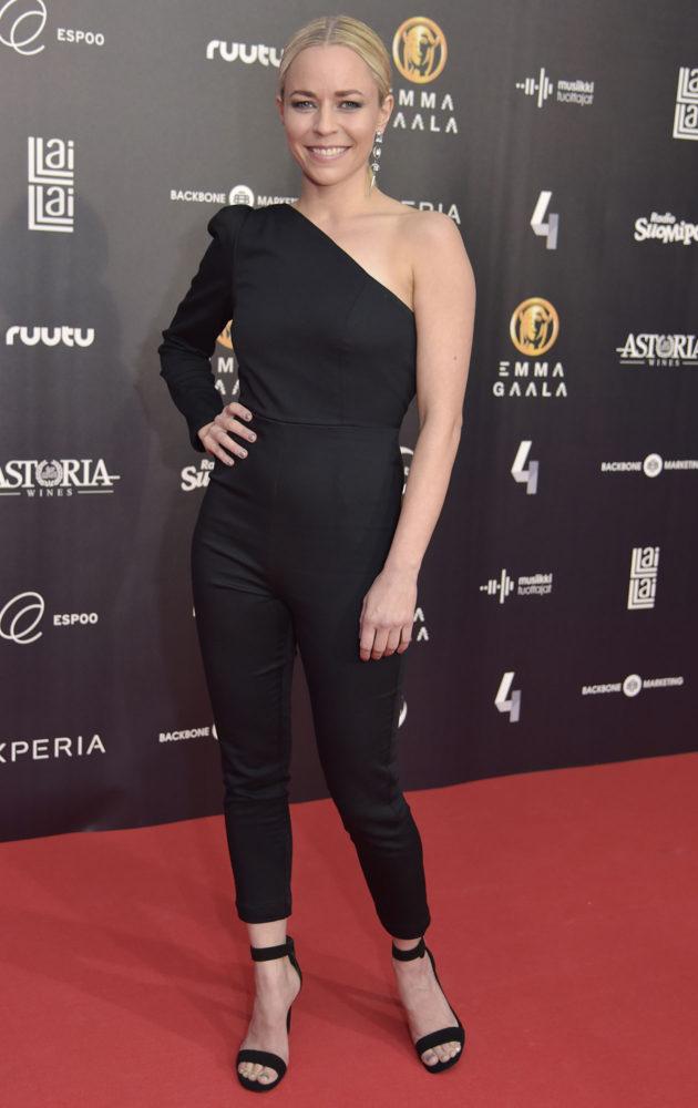 Paula Vesala vuoden 2017 Emma-gaalassa.