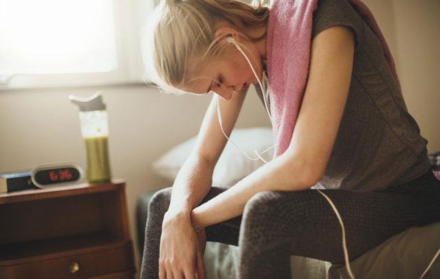 Pistävä hienhaju voi johtua stressistä tai pelkotiloista.