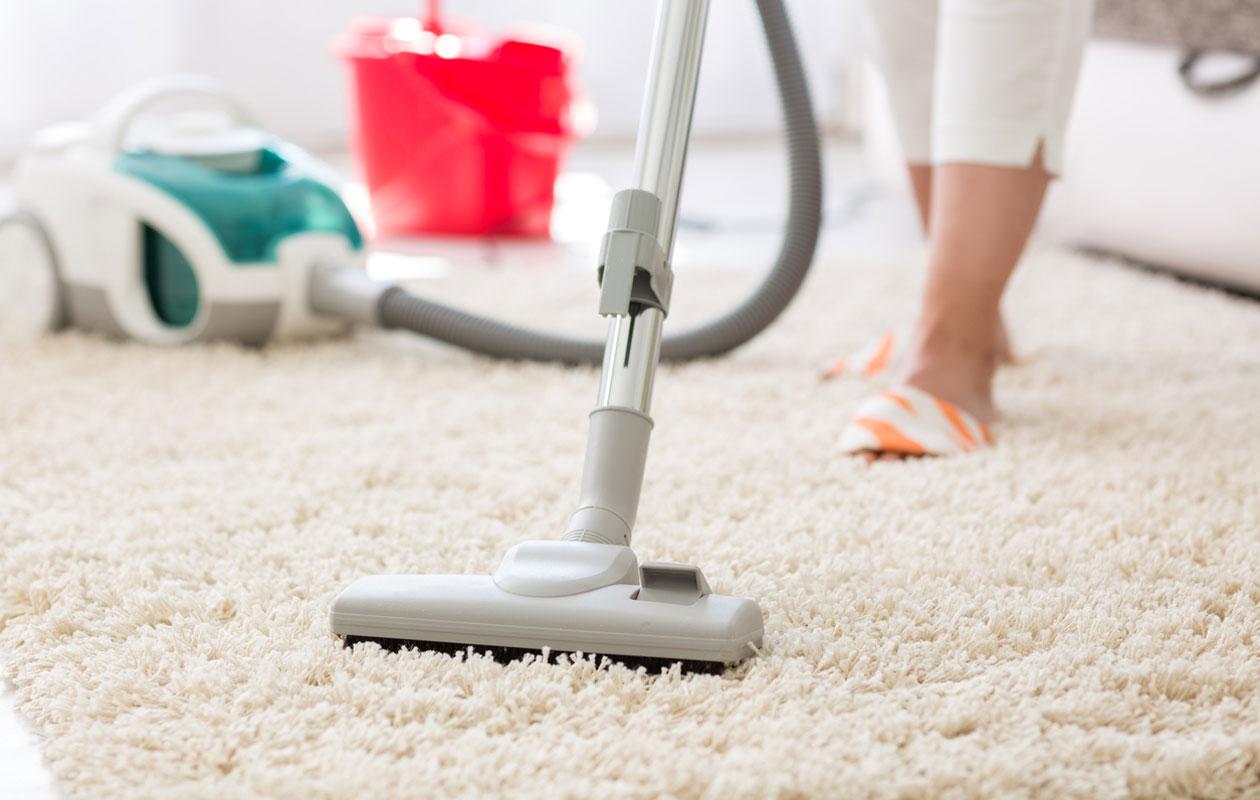 Näin peset maton ruokasoodalla.