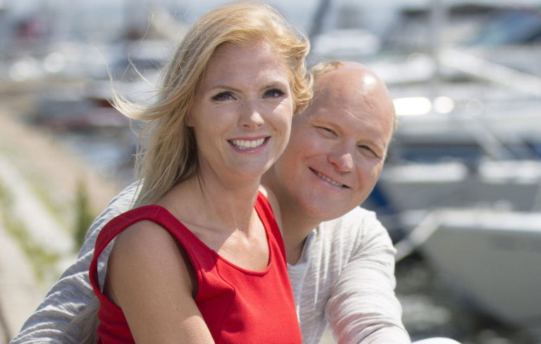 Riina-Maija Palander ja Kalle Palander