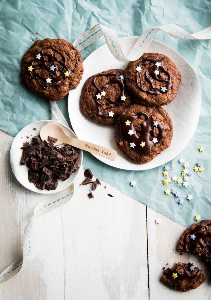 suklaa-appelsiini-cookiet