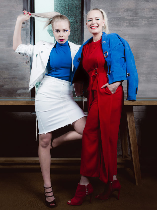 Olivia ja Johanna Oras