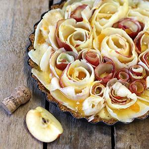 2. Pähkinäinen omenapiiras