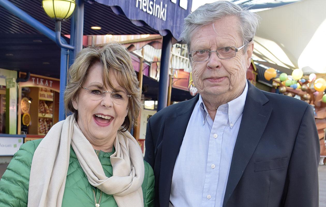 Pirkko Mannola ja Göran Stubb muuttivat yhteen viime syksynä.