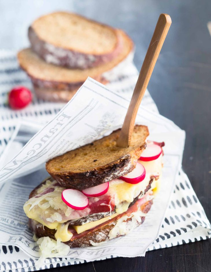 reuben-leipä