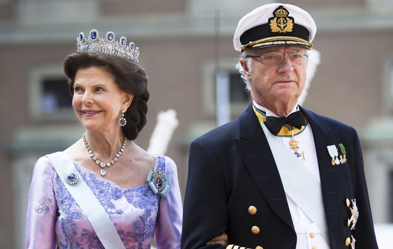 Ruotsin kuningatar Silvia ja kuningas Kaarle Kustaa.