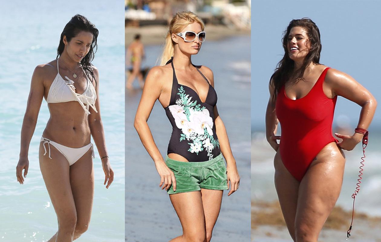 Padma Lakshmi, Paris Hilton, Ashley Graham