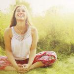 Muun muassa baddha konasana - niminen asento auttaa lievittämään masennusta, ahdistusta ja väsymystä.