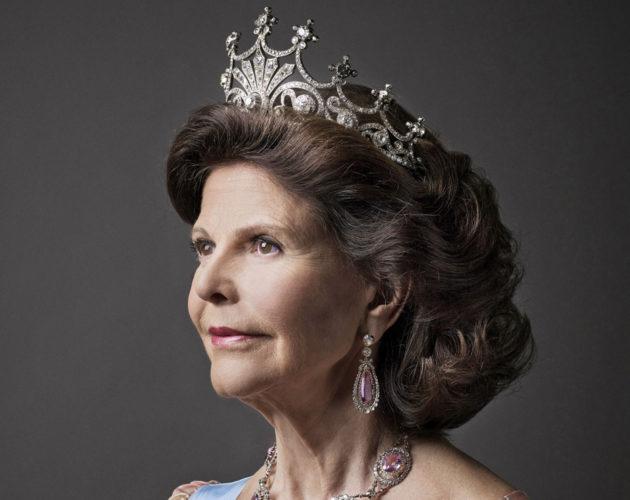 Kuningatar Silvian tiara