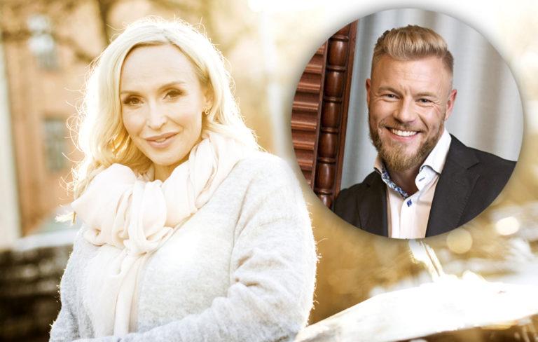 Jutta Gustafsbergin ja Juha Rouvisen rakkaus kukoistaa.