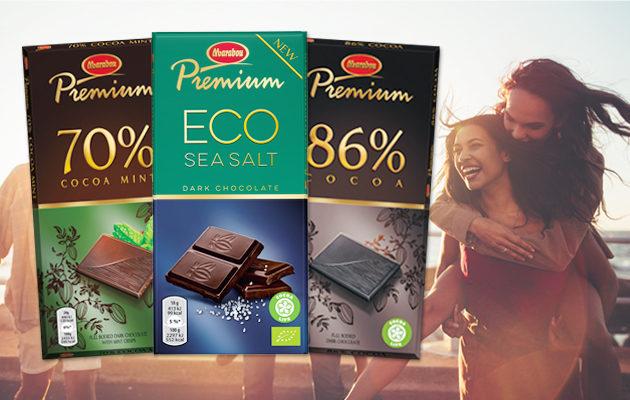 Yllätä ystävä ihanalla Marabou Premium -suklaayllätyksellä