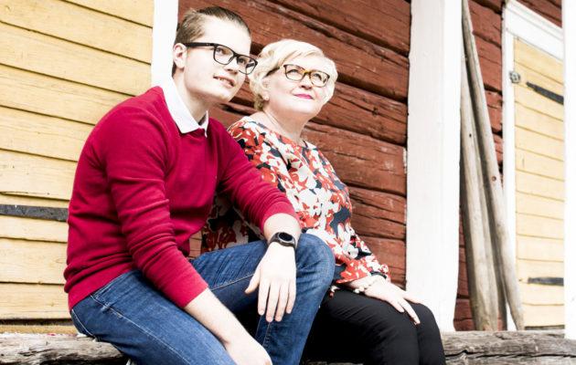 Anu Vehviläinen ja Tatu Hiltunen